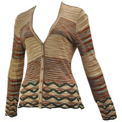 Missoni Orange Label Cardigan 46 ITL