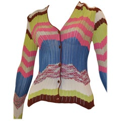M. Missoni Colorful Cardigan 40 ITL
