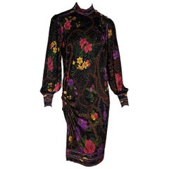 Multicolor Vintage Leonard Floral-Printed Dress