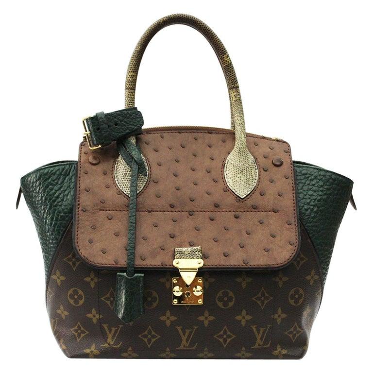 Louis Vuitton Majestueux Exotique Leather