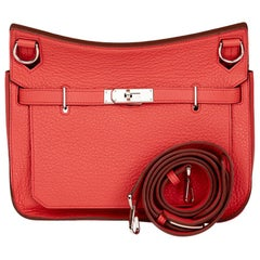 2010 Hermes Bourgainville Clemence Leather Jypsiere 28