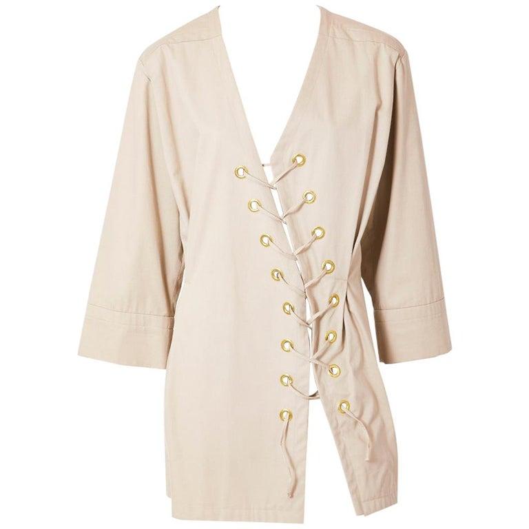 Yves Saint Laurent Khaki Saharienne Tunic For Sale