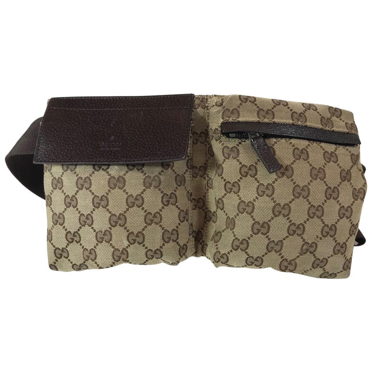 ae4793eb65c5 Gucci GG fanny pack at 1stdibs