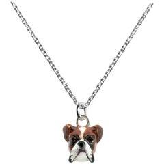 Dog Fever Milano Boxer Head Pendant