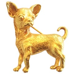 Askew of London Chihuahua Dog Brooch or pin