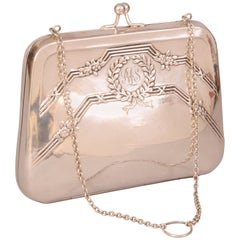 Roberta di Camerino Silver Evening Bag