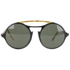 Persol Ratti Meflecto Vintage Tortoise Round Unisex Mod 650 Sunglasses