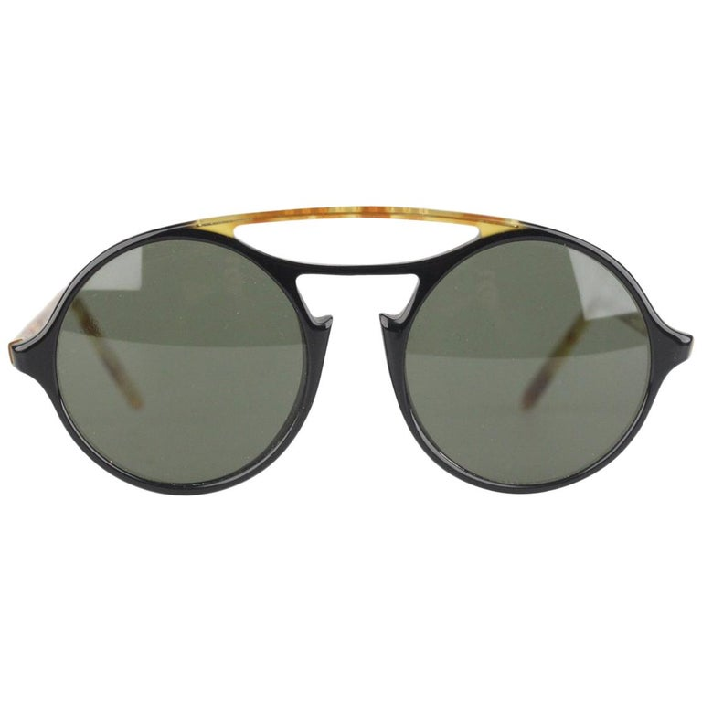 bcf932537bb41 Persol Ratti Meflecto Vintage Tortoise Round Unisex Mod 650 Sunglasses For  Sale