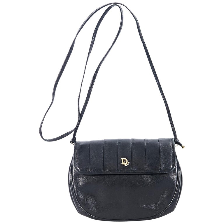 Black Vintage Christian Dior Small Crossbody Bag For Sale at 1stdibs 3650a25a13