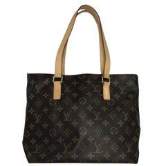Louis Vuitton Monogram Cabas Piano Tote Handbag