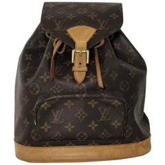 Louis Vuitton Monogram Montsouris MM Backpack Handbag