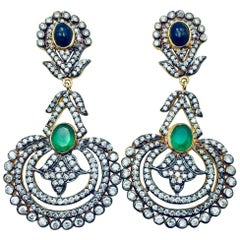 Meghna Jewels Handcrafted Jai Ho Earrings