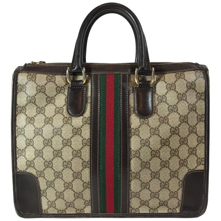 Gucci Vintage Logo Top Handle Bag