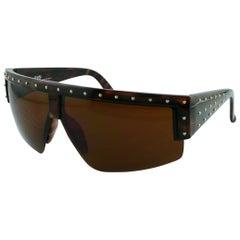 Gianni Versace Vintage Mod. 393 Shield Sunglasses