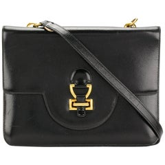 Hermes Black Box Calf Shoulder Bag