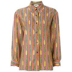 Hermes Multico Silk Shirt