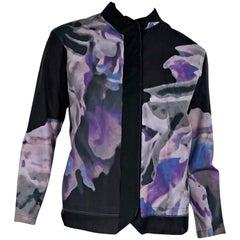 Multicolor Issey Miyake Printed Shirt & Tank Set