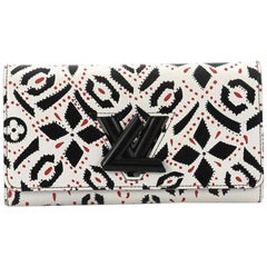 Louis Vuitton Twist Wallet Limited Edition Graphic Leather