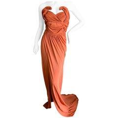John Galliano Orange Evening Dress, Spring 2010