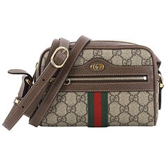 Gucci Ophidia Crossbody Bag GG Coated Canvas Mini