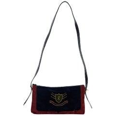 Multicolor Vintage Roberta di Camerino Velvet Bag