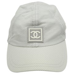 Chanel Sport Rare Gray Cap with CC Logo