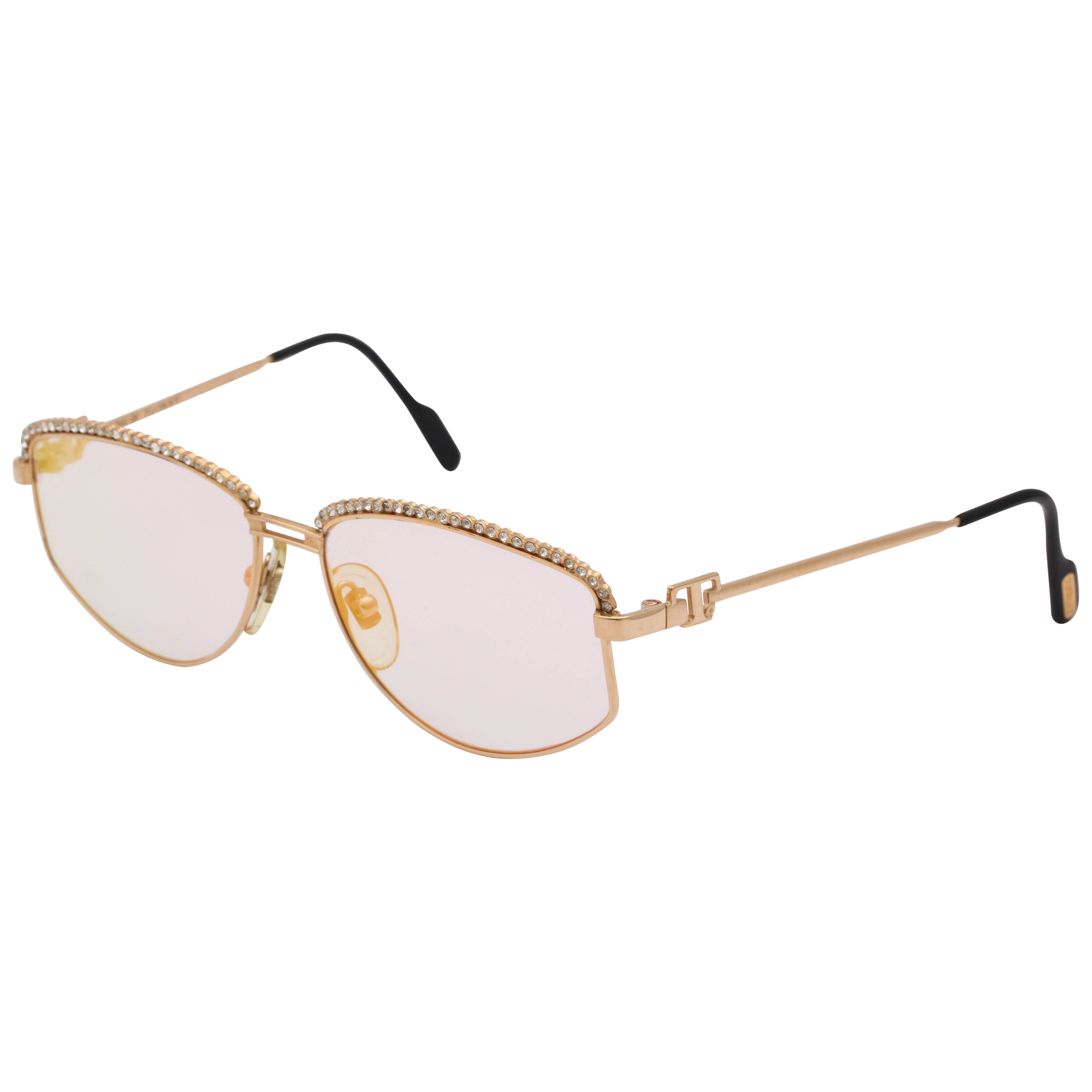 76fcca603 Soloist Of Tiffany Vintage Sunglasses T1/04 For Sale at 1stdibs