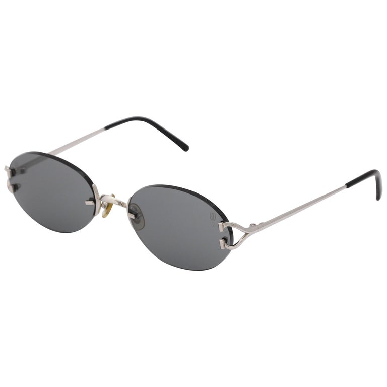 Vintage Cartier C Decor Sunglasses For Sale At 1stdibs
