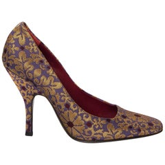 Tom Ford Yves Saint Laurent YSL Brocade Heels Pumps