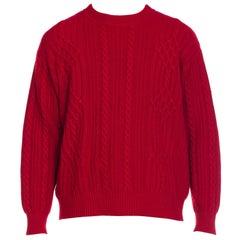 1980s Gucci Men's Cashmere Sweater