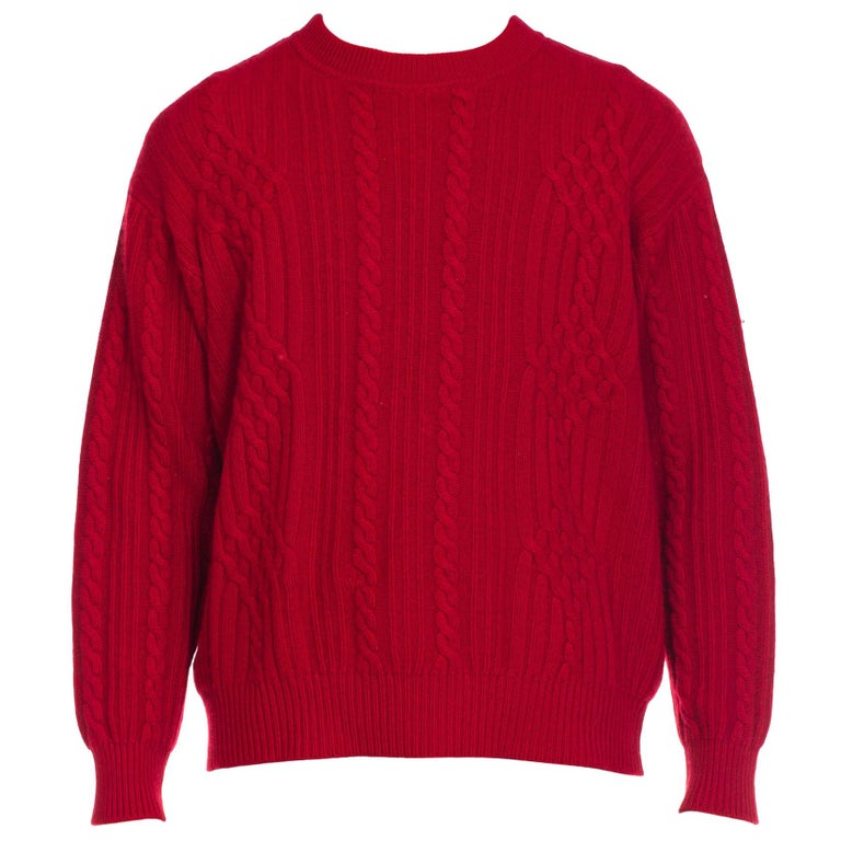 1e69a015e 1980s Gucci Men's Cashmere Sweater For Sale at 1stdibs