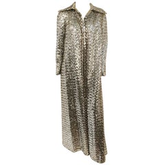 1960s Sequin Opera Coat