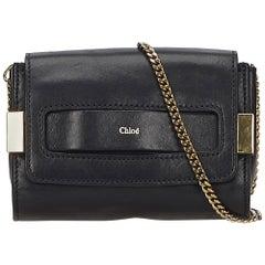 Chloe Black Elle Crossbody Bag