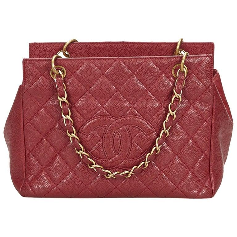 f319e814041b Chanel Pink Caviar Petit Timeless Shopping Tote at 1stdibs