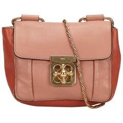 Chloe Pink  Leather Elsie