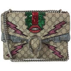 Gucci Embroidered GG Supreme Dionysus Bag