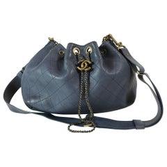 Chanel Paris-Rome Drawstring CC Bag, 2016
