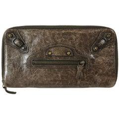 Balenciaga Zip-Around Wallet