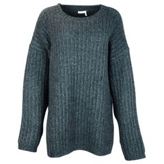 See by Chloe Frosty Green Knit Sweater
