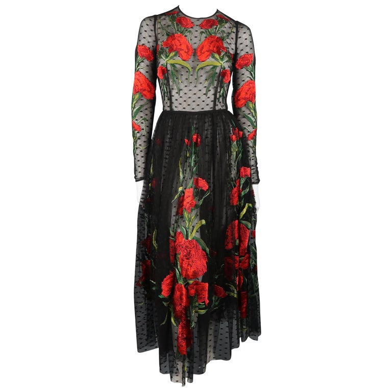 Dolce & Gabbana Runway Gown Dress, Spring 2015  For Sale