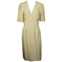 Chloe Beige Silk Dress - 38