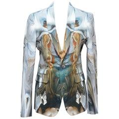 """Alexander McQueen """"La nascita di Venere"""" Botticelli Print Jacket, 2010"""