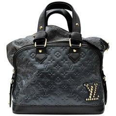 Louis Vuitton Limited Edition Blue Monogram Double Jeu Neo-Alma Bag