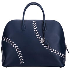 Hermes Limited Edition Travel Bolide Baseball Bag