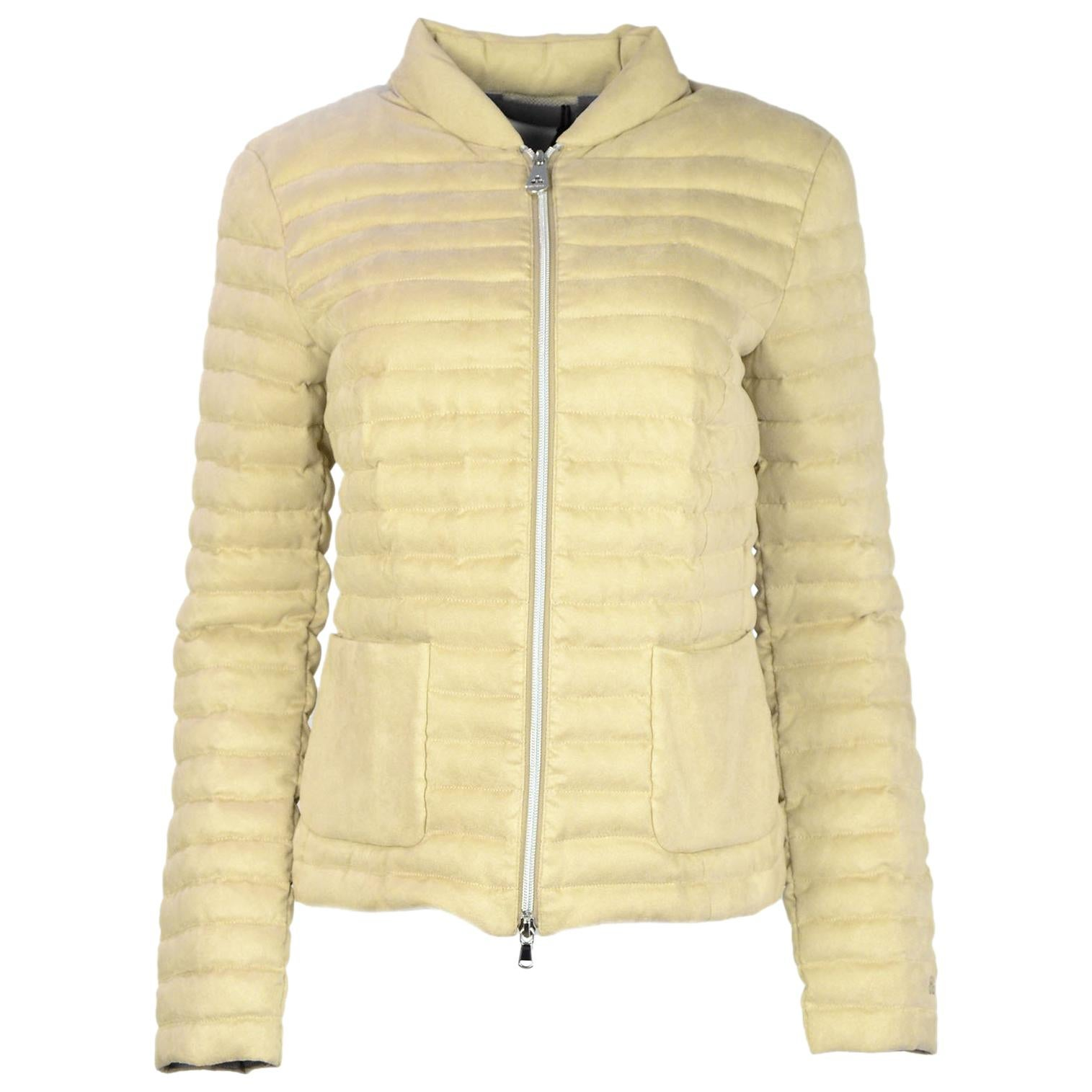 Down Quilted It46 Beige Sz For At 1stdibs Jacket Goose Sale Peuterey xatq4PwP