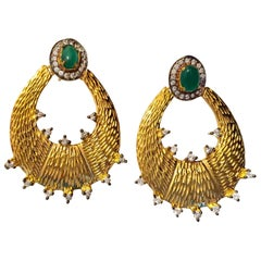 "Meghna Jewels Saya Earrings as seen in ""Gossip Girl""! Worn by Kelly Rutherford"