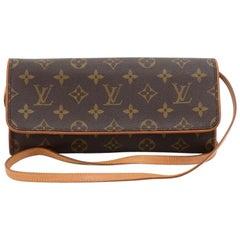 Louis Vuitton Pochette Twin GM Monogram Canvas Shoulder Bag
