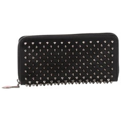 Christian Louboutin Panettone Wallet Spiked Leather