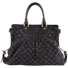 Louis Vuitton Neo Cabby Handbag Denim GM