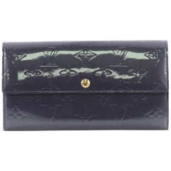Louis Vuitton Sarah Wallet Monogram Vernis